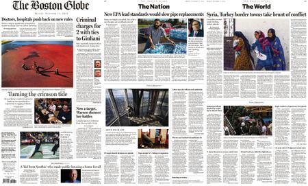 The Boston Globe – October 11, 2019