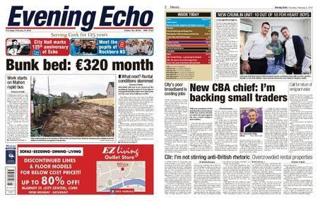 Evening Echo – February 08, 2018