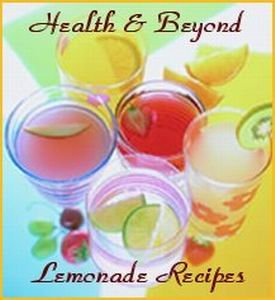 Health & Beyond Lemonade Recipes
