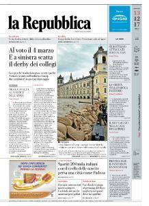 la Repubblica - 13 Dicembre 2017