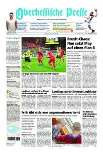 Oberhessische Presse Marburg/Ostkreis - 18. Januar 2019