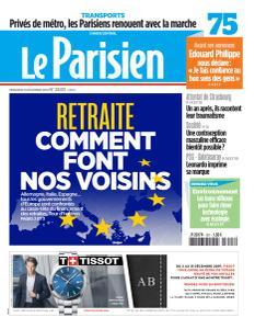 Le Parisien du Mercredi 11 Décembre 2019
