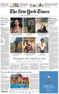 International New York Times - 4 June 2020