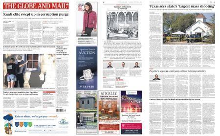 The Globe and Mail – November 06, 2017