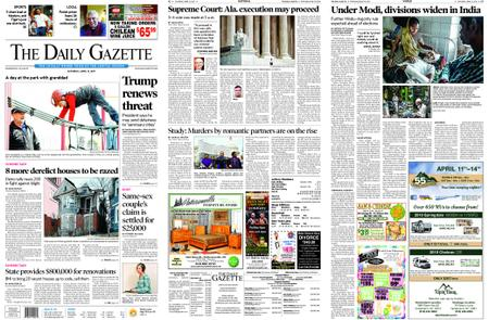 The Daily Gazette – April 13, 2019