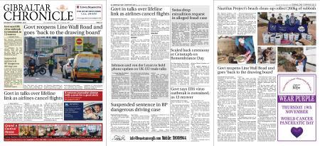 Gibraltar Chronicle – 07 November 2020