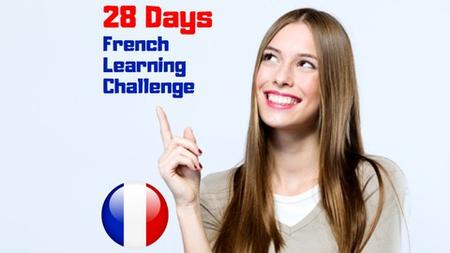 French 28 Days Challenge for Beginners + Delf A1 Cheat Sheet