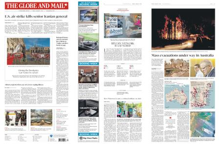 The Globe and Mail – January 03, 2020