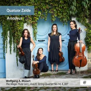 Quatuor Zaïde - Quatuor Zaïde: Amadeus (2019) [Official Digital Download 24/96]