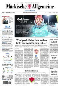 Märkische Allgemeine Dosse Kurier - 12. Februar 2018