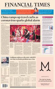 Financial Times Europe – 24 January 2020