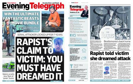 Evening Telegraph First Edition – November 14, 2018