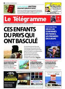Le Télégramme Concarneau – 25 janvier 2020