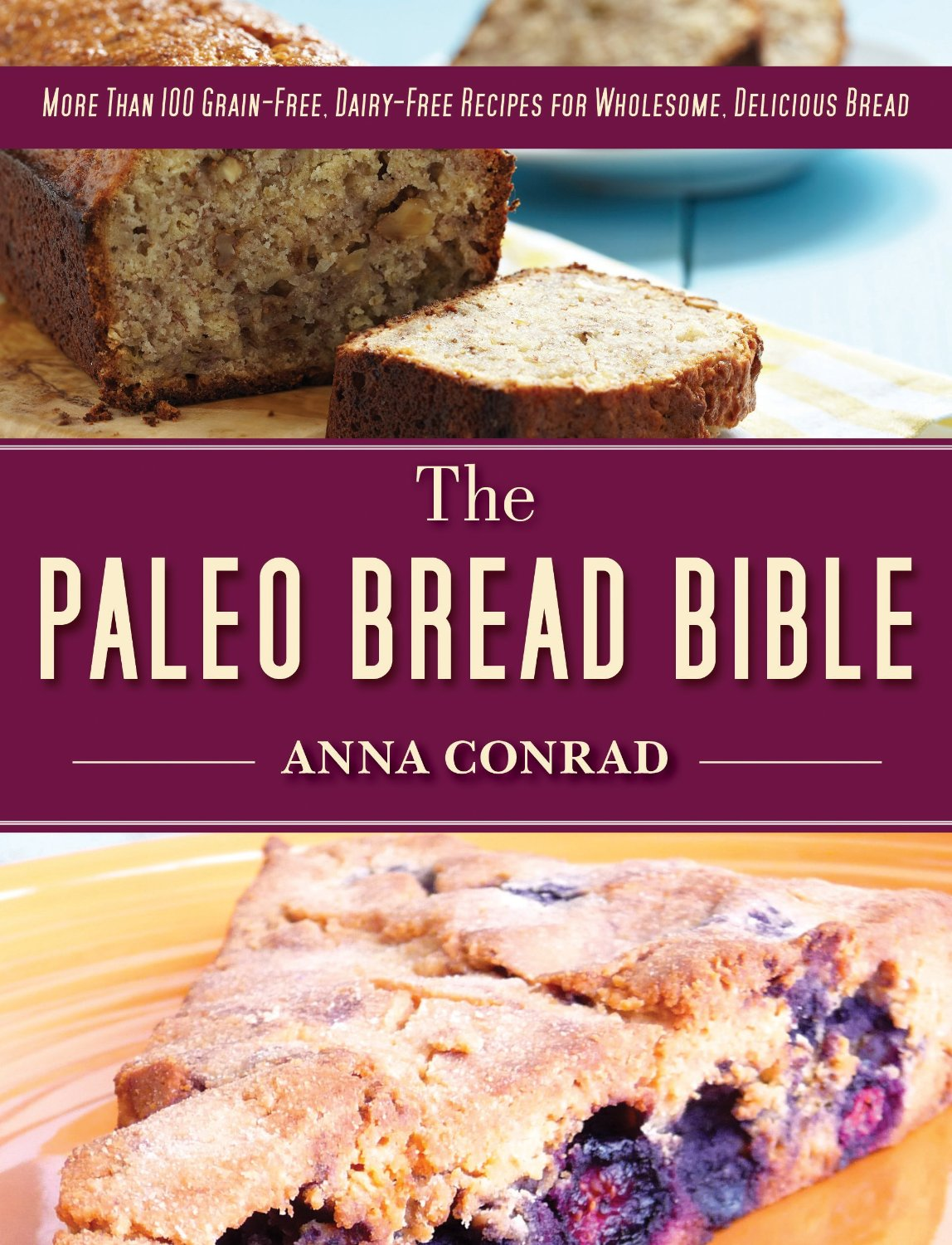 The Paleo Bread Bible: More Than 100 Grain-Free, Dairy-Free Recipes for Wholesome, Delicious Bread (repost)