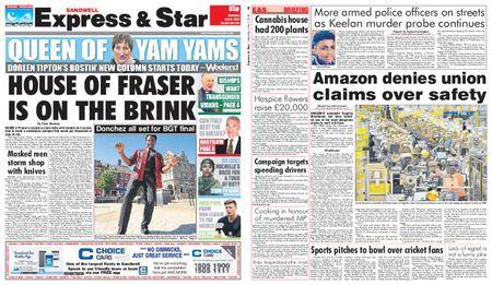 Express and Star Sandwell Edition – June 02, 2018