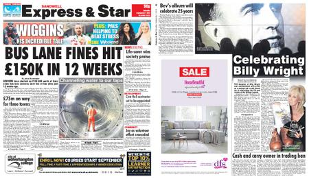 Express and Star Sandwell Edition – September 07, 2019