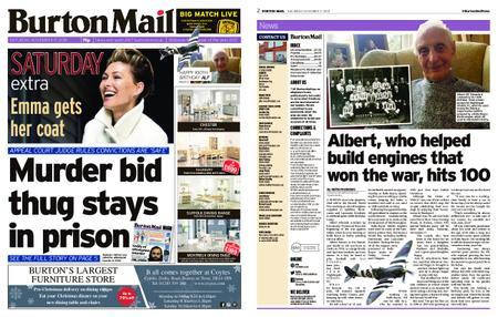 Burton Mail – November 17, 2018