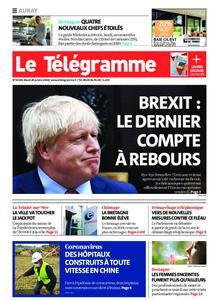 Le Télégramme Auray – 28 janvier 2020