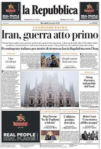 la Repubblica - 8 Gennaio 2020