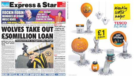 Express and Star City Edition – October 19, 2019