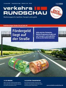 VerkehrsRundschau - 03. Januar 2020