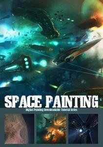 Digital Painting Series - Space Painting [Repost]