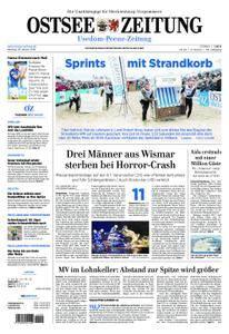 Ostsee Zeitung Wolgast - 29. Januar 2018