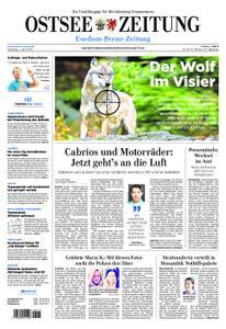 Ostsee Zeitung Wolgast - 02. April 2019