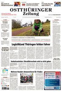Ostthüringer Zeitung Saalfeld - 03. April 2018
