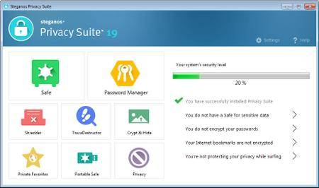 Steganos Privacy Suite 19.0.2 Revision 12306 Multilingual