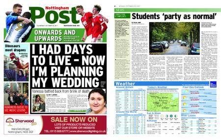 Nottingham Post – October 30, 2017