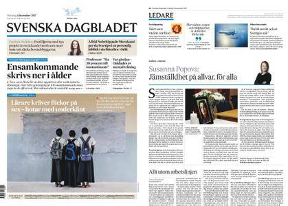 Svenska Dagbladet – 04 december 2017