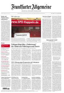 Frankfurter Allgemeine Zeitung F.A.Z. - 13. August 2018