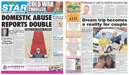 Shropshire Star Shrewsbury Edition – October 30, 2017