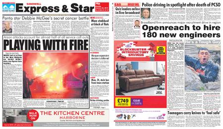 Express and Star Sandwell Edition – January 28, 2019