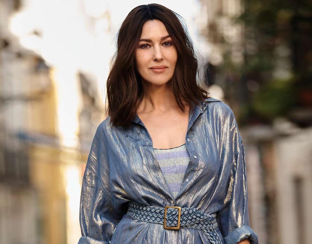 Monica Bellucci by Myro Wulff for ELLE France July 6th, 2018