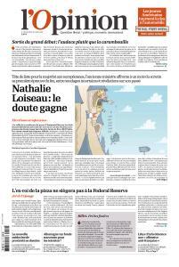 L'Opinion du Mercredi 24 Avril 2019