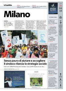 la Repubblica Milano - 26 Aprile 2018