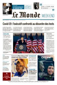 Le Monde du Samedi 19 Septembre 2020