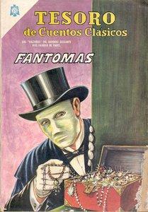 Tesoro de Cuentos Clasicos 103: Fantomas #1 - Marzo 1966