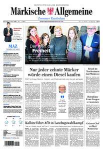 Märkische Allgemeine Zossener Rundschau - 08. Januar 2019