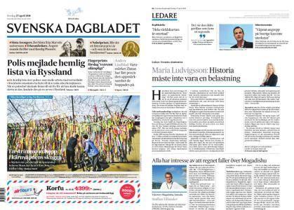 Svenska Dagbladet – 27 april 2018