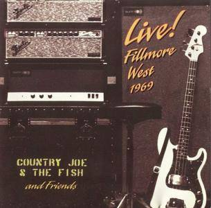 Country Joe & The Fish - Live! Fillmore West 1969 (1994)