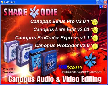 AIO Canopus Audio & Video Editing