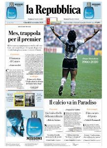la Repubblica - 26 Novembre 2020