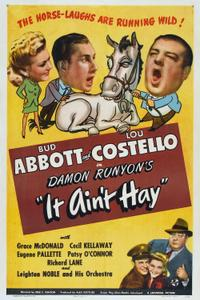 Abbott and Costello - It Ain't Hay (1943)