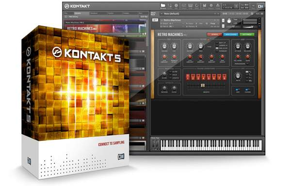 Native Instruments Kontakt 5 v5.8.0 AU VST MacOSX
