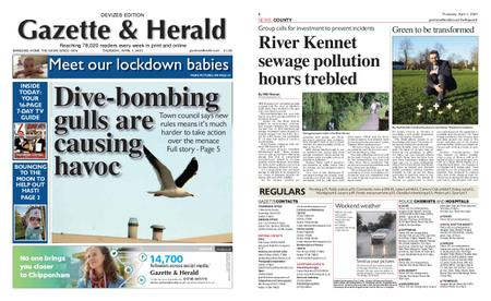 Gazette & Herald – April 01, 2021