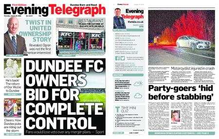 Evening Telegraph First Edition – January 10, 2019