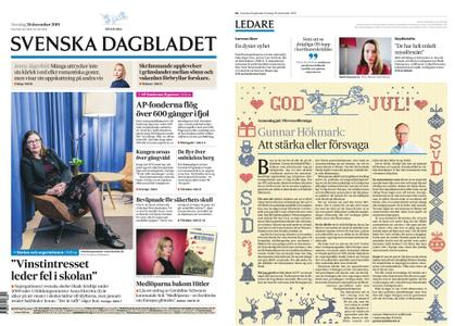 Svenska Dagbladet – 26 december 2019